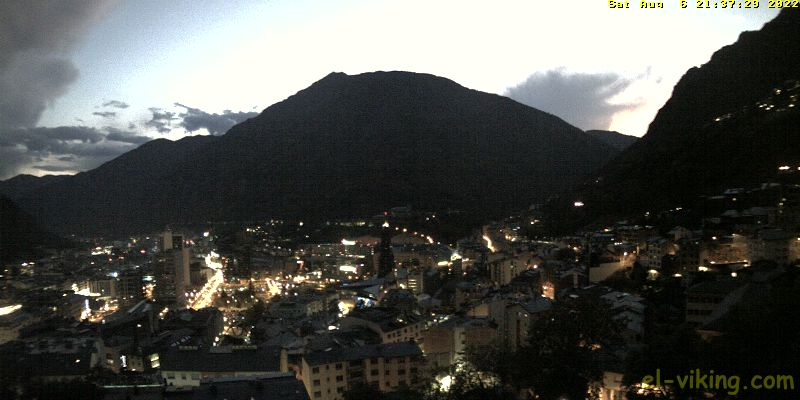 WebCam over Andorra la Vella &amp; Escaldes Engordany