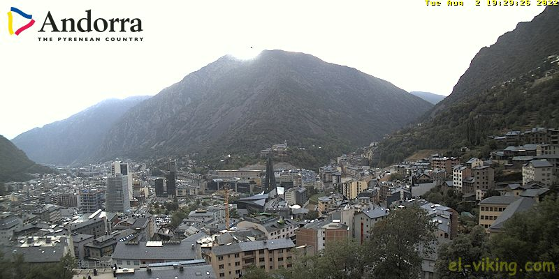 Webcam Escaldes-Engordany Andorra (El-Viking.com)
